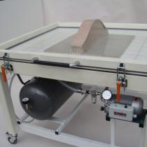 "Presse rigide ""M"" 1300x1500 mm - Pompe 8 m3/h - Multico"