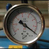 Vacuomètre pour presse à vide - Négatif  maxi -1.00