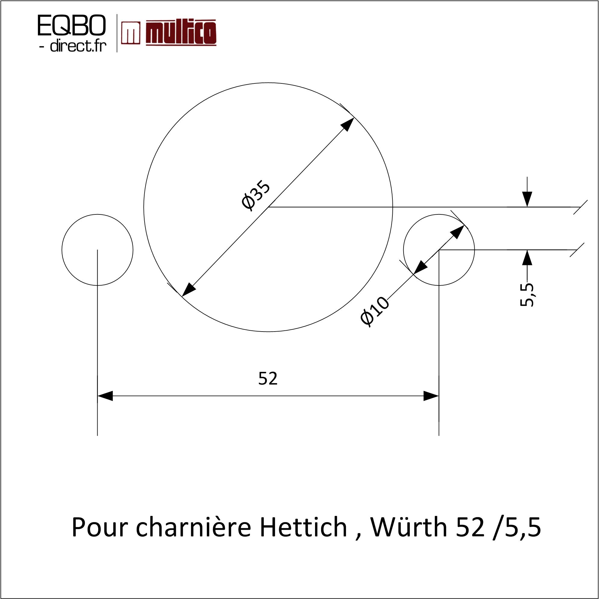 Charnière Hettich